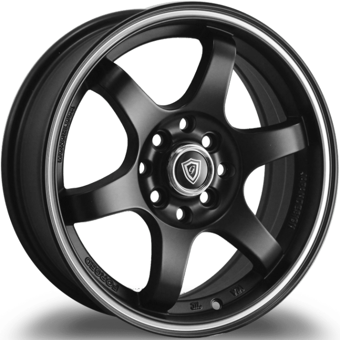 G-Line 6011 Matte Black with Machined Stripe