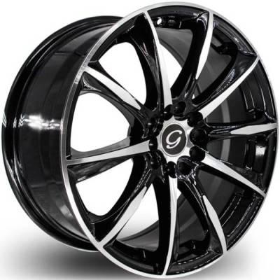 G-Line G1026 Gloss Black Machined